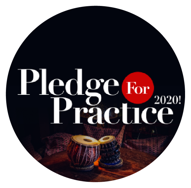 past event of pledge for practice